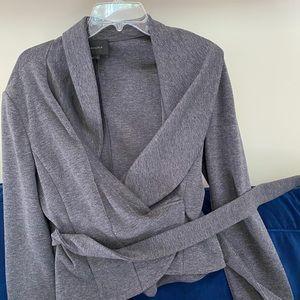 Grey stretch BCBG blazer
